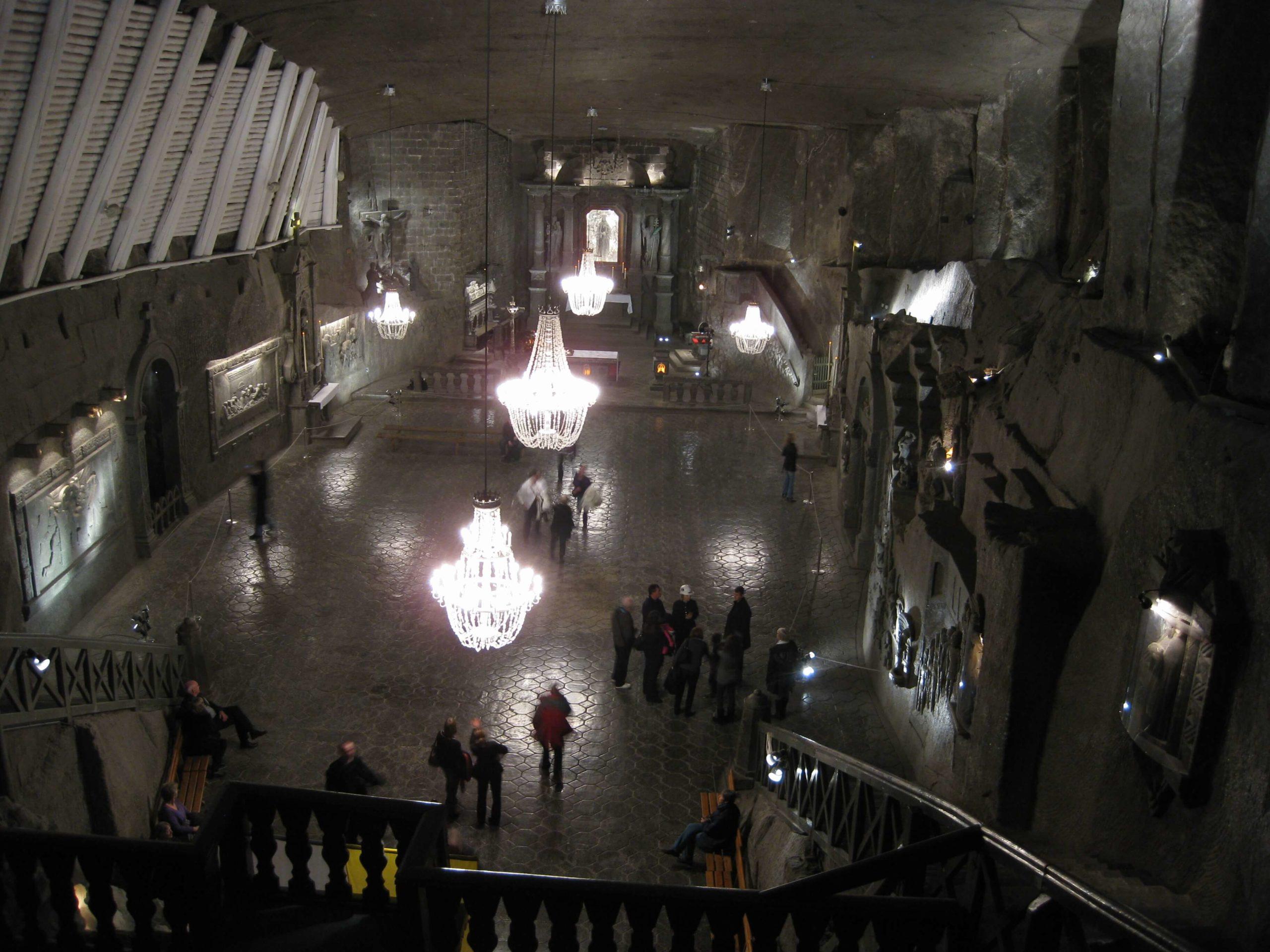 Wieliczka Salt Mine – Poland