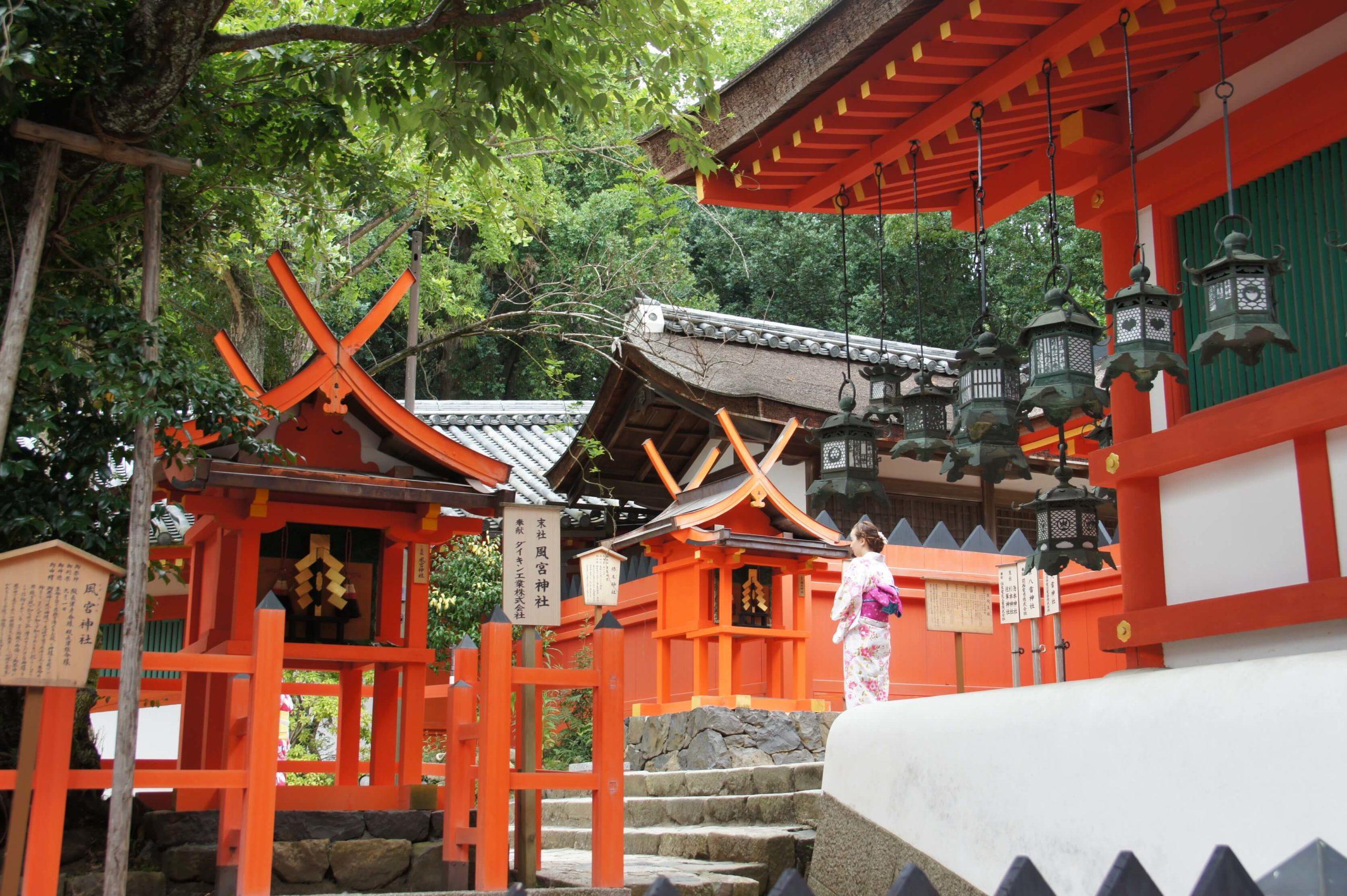 Nara and Horyuji – Japan
