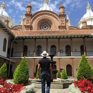 Cuenca's Cathedral, Ecuador