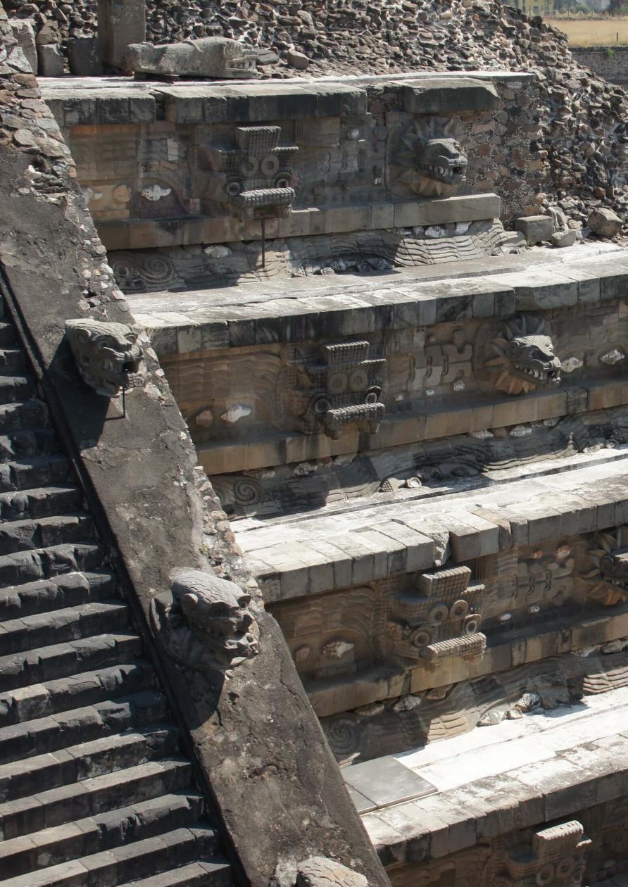 Teotihuacan Pyramid - Mexico